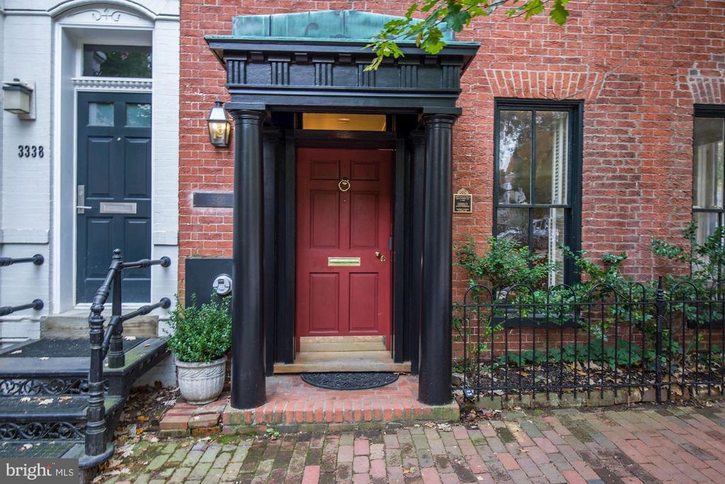 Front Door - 3340 N ST NW, WASHINGTON