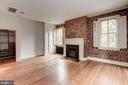 2nd Bedroom With Fireplace - 3340 N ST NW, WASHINGTON