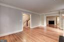 Living Room - 3340 N ST NW, WASHINGTON