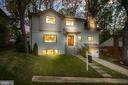 Twilight front elevation - 512 N LITTLETON ST, ARLINGTON