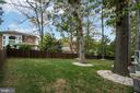View from rear of home - 512 N LITTLETON ST, ARLINGTON