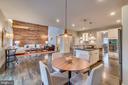 Breakfast area w/view of great room - 512 N LITTLETON ST, ARLINGTON