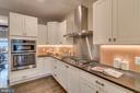 Kitchen w/honed granite countertops - 512 N LITTLETON ST, ARLINGTON
