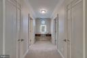 View from Owners' suite to dressing area - 512 N LITTLETON ST, ARLINGTON
