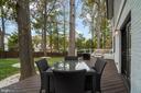 Engineered wood deck - 512 N LITTLETON ST, ARLINGTON