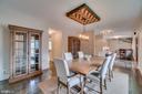 Oversized dining room - 512 N LITTLETON ST, ARLINGTON