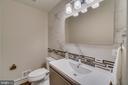 Main level powder room - 512 N LITTLETON ST, ARLINGTON