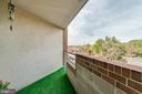 Balcony 1 - 1951 SAGEWOOD LN #509, RESTON