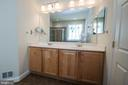 Master Bath dual vanity - 5526 W RICH MOUNTAIN WAY, FREDERICKSBURG