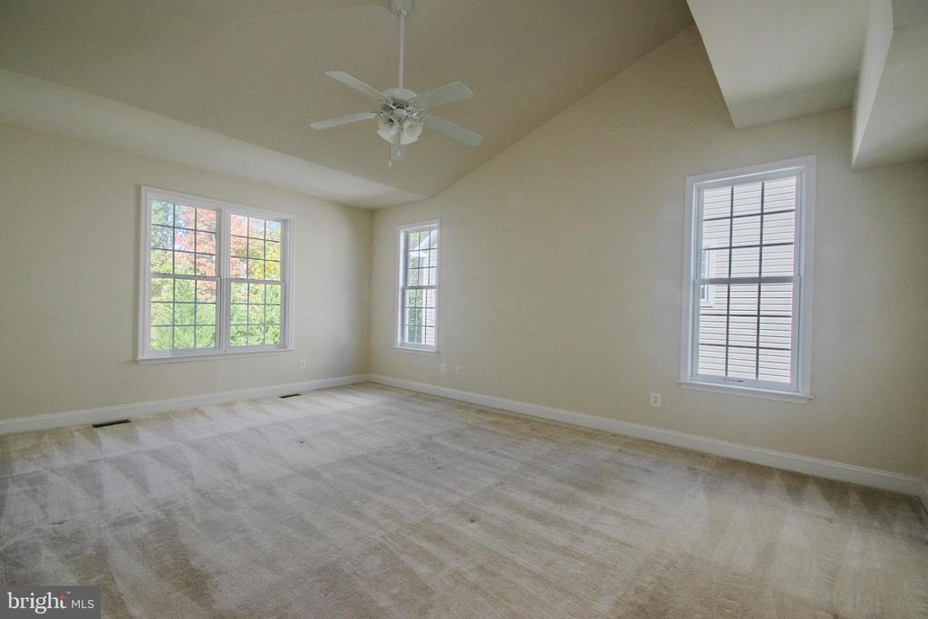 Master Bedroom on entry level - 5526 W RICH MOUNTAIN WAY, FREDERICKSBURG
