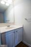 Main level guest half bath - 5526 W RICH MOUNTAIN WAY, FREDERICKSBURG