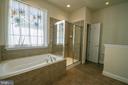Master bath with linen closet - 5526 W RICH MOUNTAIN WAY, FREDERICKSBURG