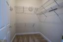 1 of 2 Master closets - 5526 W RICH MOUNTAIN WAY, FREDERICKSBURG