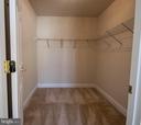 #2 Bedroom walk-in  closet - 5526 W RICH MOUNTAIN WAY, FREDERICKSBURG