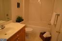 Full bath upstairs - 2498 LAKESIDE DR, FREDERICK