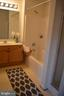 Master bath with separate shower and tub - 2498 LAKESIDE DR, FREDERICK