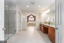 Impressive Master Bathroom - 131 ARDEN LN, STAFFORD