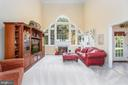 Two Story Family Room with Cascading Windows - 131 ARDEN LN, STAFFORD