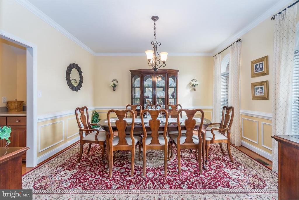 Formal Dining Room off the Butler's Pantry - 131 ARDEN LN, STAFFORD