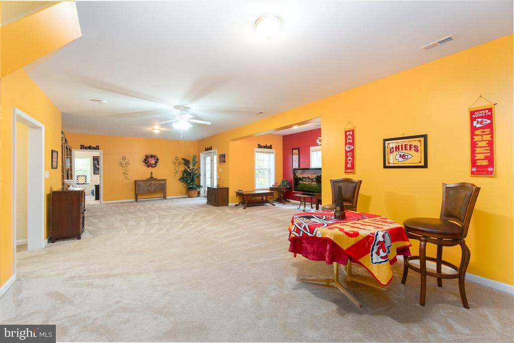 Walk-out Basement with lots of natural light - 131 ARDEN LN, STAFFORD