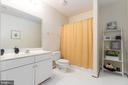 Full Bathroom  in Basement - 131 ARDEN LN, STAFFORD