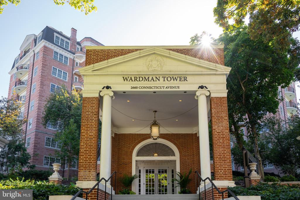 WARDMAN TOWER ENTRANCE - 2660 CONNECTICUT AVE NW #3A, WASHINGTON