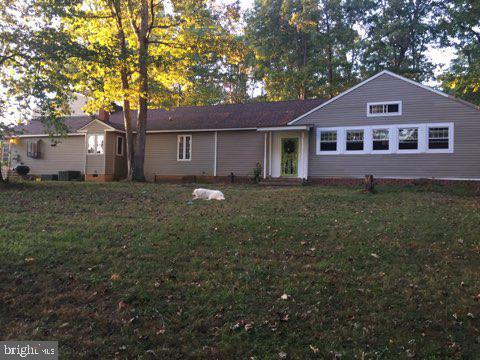 Back of Home on  3 Acres - 11201 CHANCELLOR MEADOWS LN, LOCUST GROVE