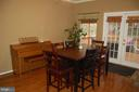 Breakfast area of family room - 6 FLEWELLEN DR, STAFFORD