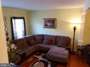 VIEW OF LIVING ROOM - 13959 GILL BROOK LN, CENTREVILLE