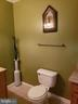 LOWER LEVEL POWDER ROOM - 13959 GILL BROOK LN, CENTREVILLE