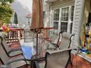VIEW OF DECK - 13959 GILL BROOK LN, CENTREVILLE
