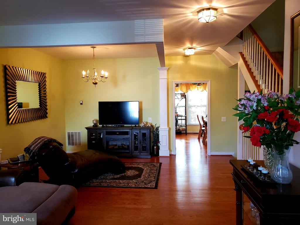 MAIN LEVEL VIEW - 13959 GILL BROOK LN, CENTREVILLE