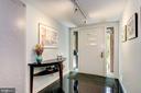 Sleek entry foyer - 2318 44TH ST NW, WASHINGTON