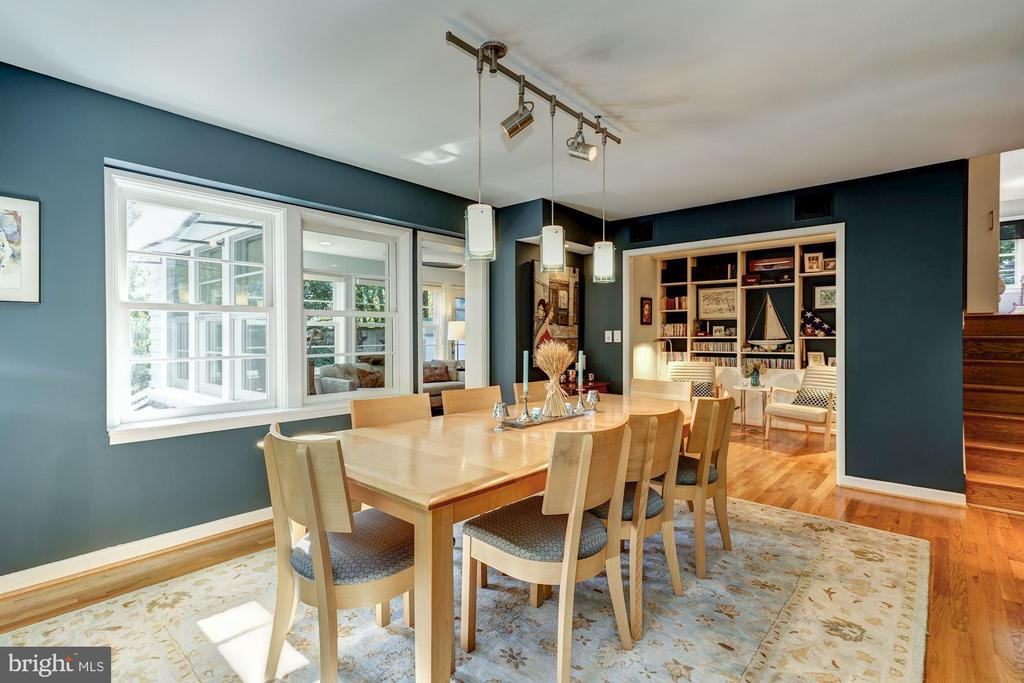 Dining Room level is  wired for sound - 2318 44TH ST NW, WASHINGTON