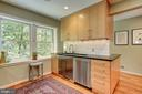 Kitchen with lovely views - 2318 44TH ST NW, WASHINGTON