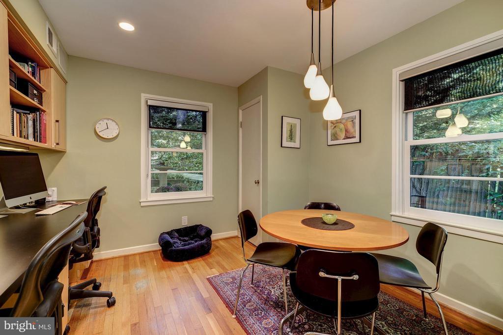 Breakfast Room/Work, Study area - 2318 44TH ST NW, WASHINGTON