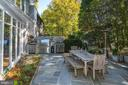 Patio open to the Living Room - 2318 44TH ST NW, WASHINGTON