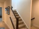 Stairs to roof deck - 20496 MILBRIDGE TER, ASHBURN