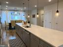 Kitchen Island - 20496 MILBRIDGE TER, ASHBURN