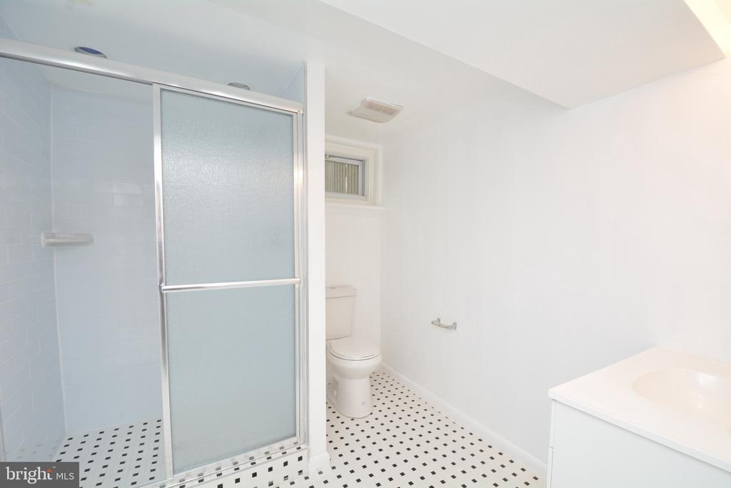 Lowel level full bath - 4747 ARLINGTON BLVD, ARLINGTON