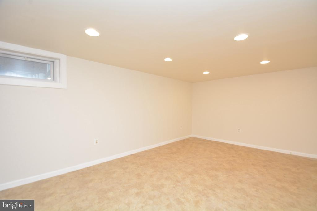 Lower level family room/flex space - 4747 ARLINGTON BLVD, ARLINGTON