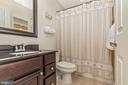 Upper Level Full Hall Bathroom - 2125 BRIGADE CIR, FREDERICK