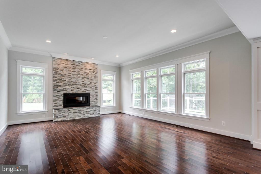 FAMILY-ROOM WITH GAS FIREPLACE.  MAKE YOUR OWN SEL - 212 TAPAWINGO RD SE, VIENNA