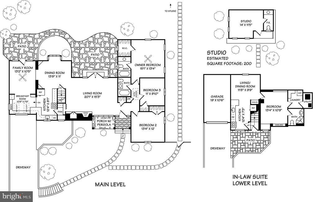 Floor Plan - 4815 LITTLE FALLS RD, ARLINGTON