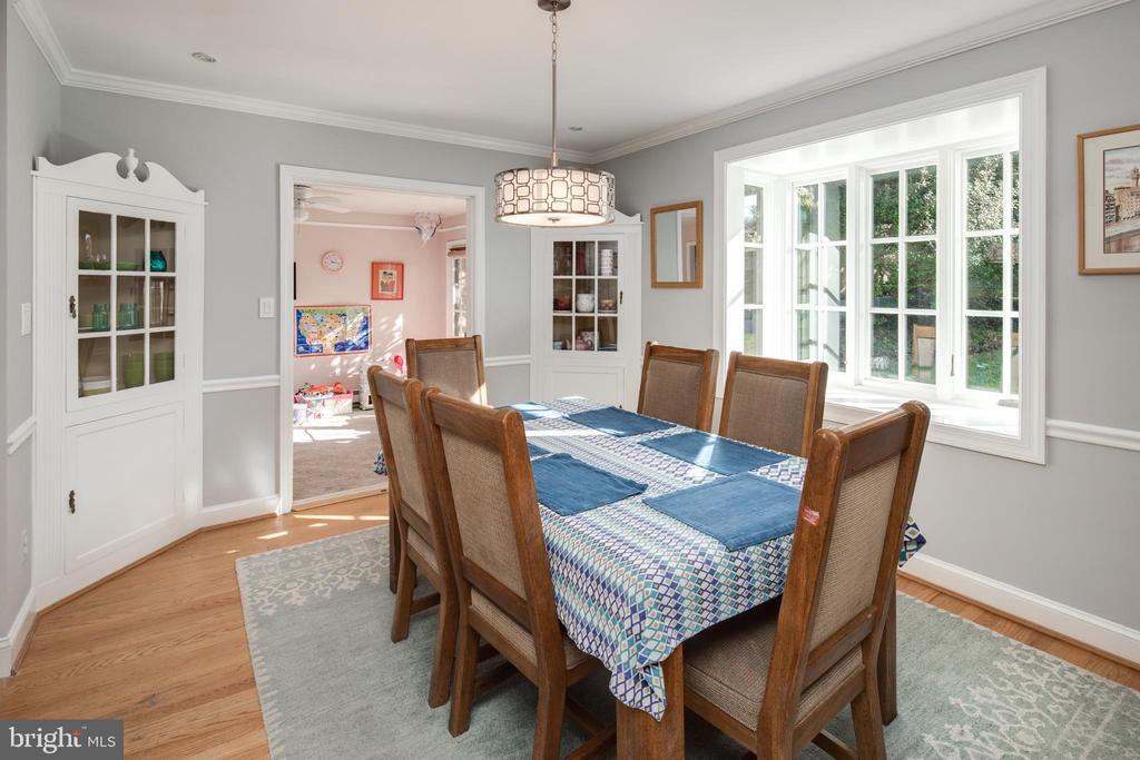 Dining Room - 4815 LITTLE FALLS RD, ARLINGTON