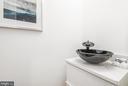 Main Level Half Bath - 1634 ARGONNE PL NW, WASHINGTON