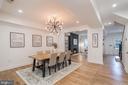Dining Room - 1634 ARGONNE PL NW, WASHINGTON