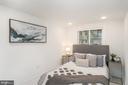 Lower Level Fourth Bedroom - 1634 ARGONNE PL NW, WASHINGTON