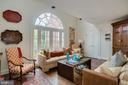 Bedroom 3/ Sitting Room Features Juliet Balcony - 3218 VOLTA PL NW, WASHINGTON