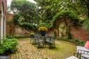 Professionally Landscaped Rear Terrace - 3218 VOLTA PL NW, WASHINGTON